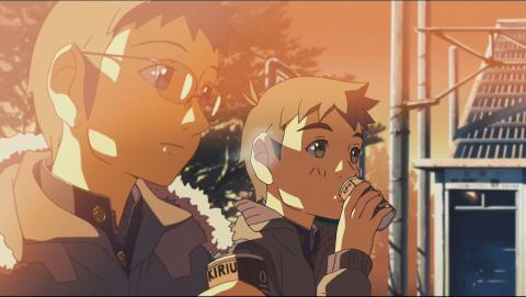 This movie has incredible art. A great example of why I believe high definition video makes anime even better.